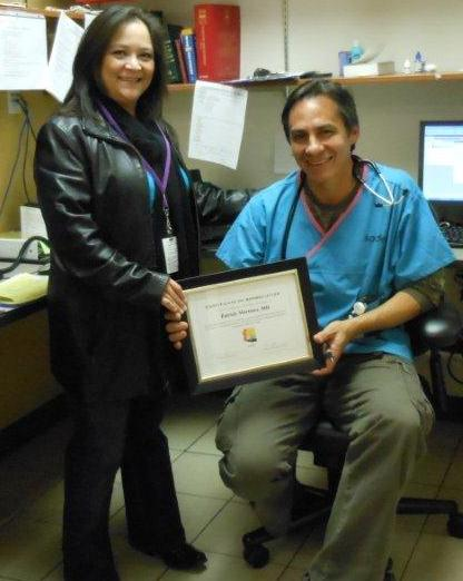 SEAHEC recognizes Santa Cruz Physician