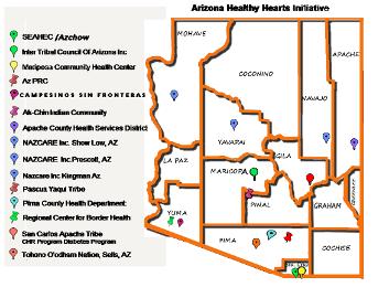 Healthy Hearts Map