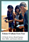 First Tohono O'odham Summer Camp