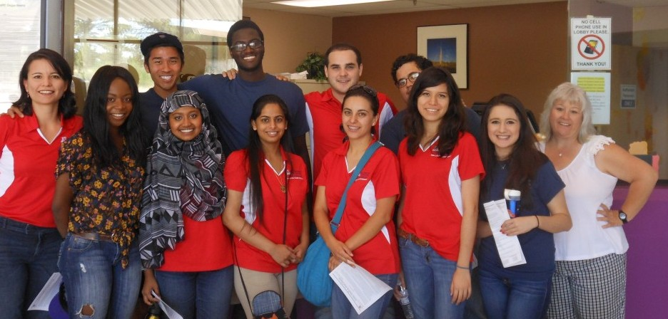 Frontera Students at Cochise Health and Social Services