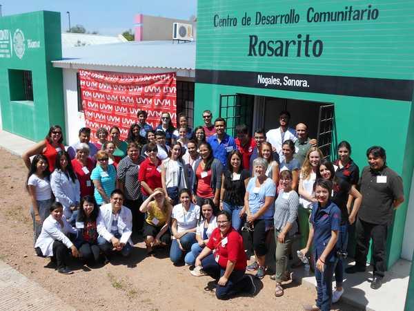 Border Health Service Learning Institute: Visit to Centro de Desarollo Comunitaro Rosarito Nogales Sonora