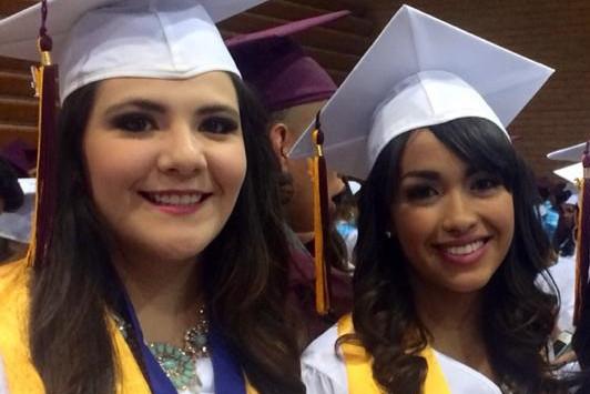 Rina Ornelas and Alma Irasema Garcia 2014 SEAHEC Karen Halverson Scholars