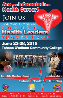 2015 FHL Summer Camp Tohono O'odham flyer image