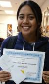 Sadie Belton TO FHL Scholar 2014