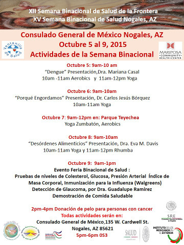 Binational Health Week sp