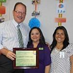 Dr. Maudlin & Erin Sol SEAHEC 30th Anniversary Preceptor Award