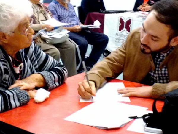 Nogales Senior Center Health Fair - Dennis Dacarett-Galeano (Mt. Sinai)