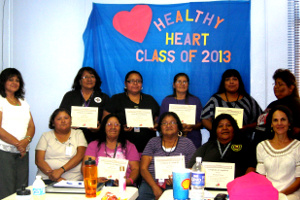 Arizona Healthy Hearts Initiative Tohono O'odham CHRs