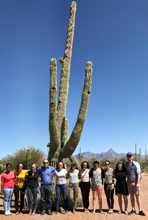 2017 Mt Sinai Tour-Med Students Visit Tohono O'odham Nation