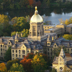 Notre Dame University Main Quad Thumbnail