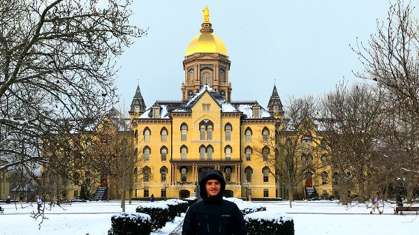 Diego Garcia, SEAHEC guest blogger at University of Notre Dame