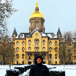 Diego Garcia at University of Notre Dame thumbnail