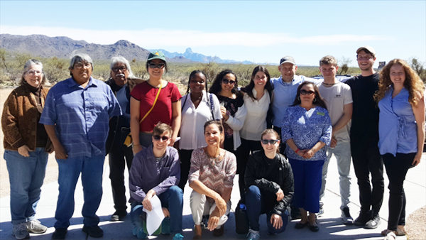2018 MtSinaiGroup at Tohono O'odham Nation