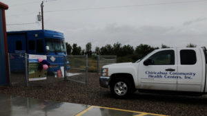 2018 Chiricahua Community Health Centers' Mobil Clinic Visit to Winchester Heights Community Center