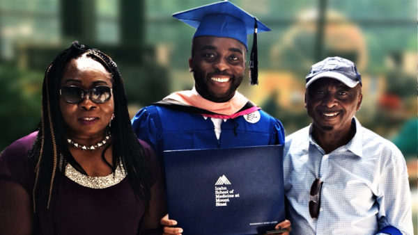 SEAHEC Intern, Chukwuemeka Arinze Iloegbu (Emeka) graduates from the Icahn School of Medicine at Mount Sinai with his Master of Public Health degree
