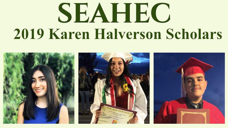 2019 Karen Halverson Scholars