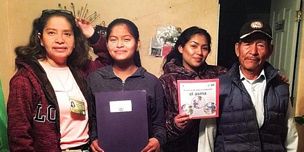 SEAHEC Healthy Farms CHWs bring asthma, lead education to their community